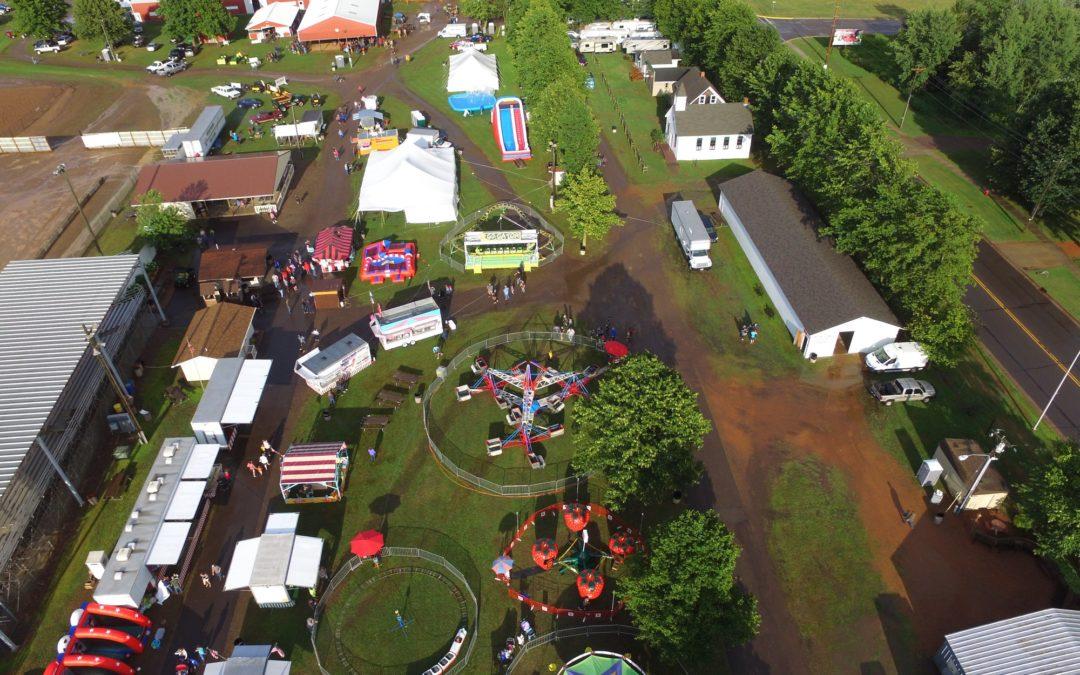 taylor county fair arial view