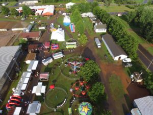 taylor county fair arial view
