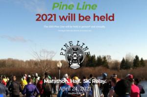 Pine Line Marathon 2021